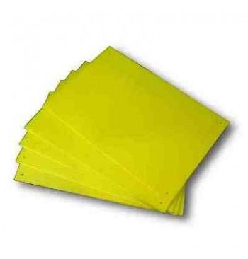 Trampa cromática amarilla engomada reutilizable 2 unid.