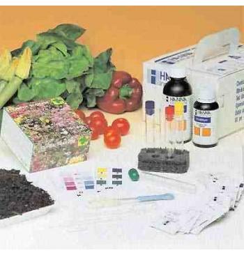 Kit combinado para agricultura (ph, N, P, K) 10 test HI 3895