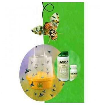 Mosquero + atrayente contra la mosca de la fruta