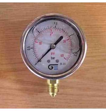 Manómetro 2,5 Kg./cm2