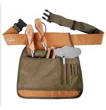 Cinturón para herramientas del jardín