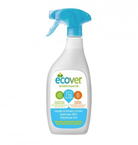 Limpiacristales en spray Ecover 500ml