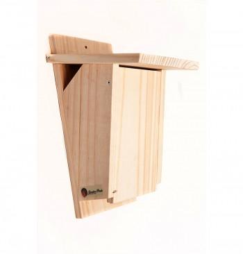 Caja nido para agateador de pino macizo