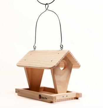 """Comedero de madera modelo """"Cabaña"""""""