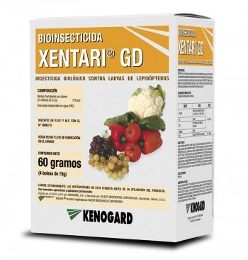 Insecticida larvicida biológico Xentari GD (4x15g)