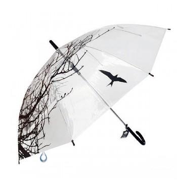 Paraguas transparente Natura