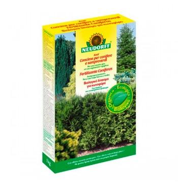 Fertilizante coníferas 1kg Neudorff