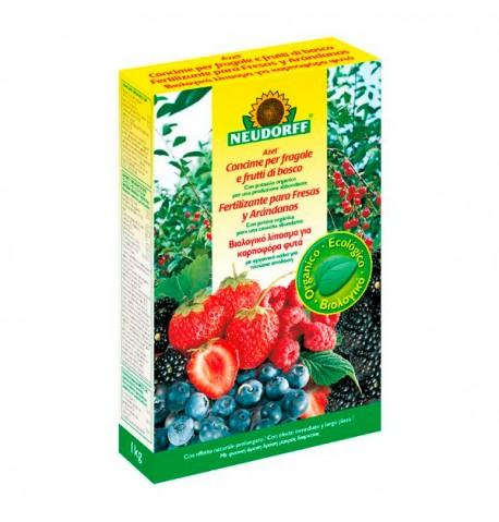 Fertilizante fresas y arándanos 1kg Neudorff