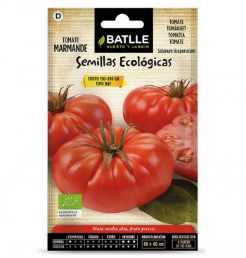 Tomate marmande raf ecológico 0,5g