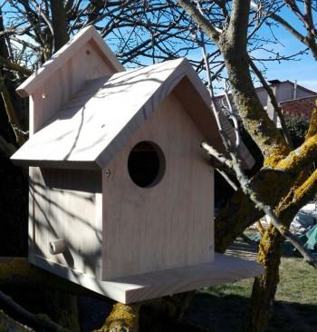 Caja nido para ardillas