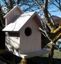 Caja nido de madera para ardillas