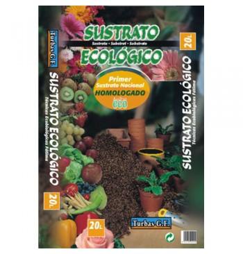 Sustrato ecológico especial semilleros y trasplantes 20L