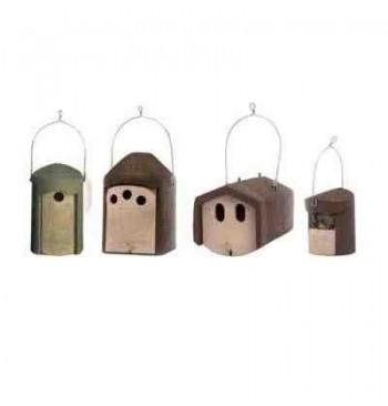 Kit cajas nido nº 2 (para jardines medianos)