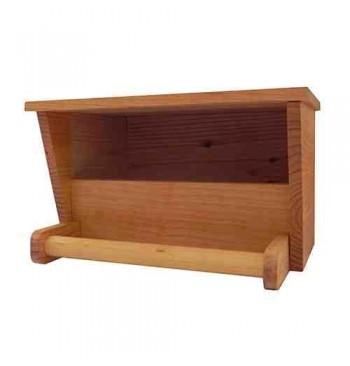 Caja nido de madera para cernícalo vulgar