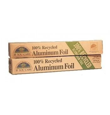 Papel Aluminio 100% reciclado