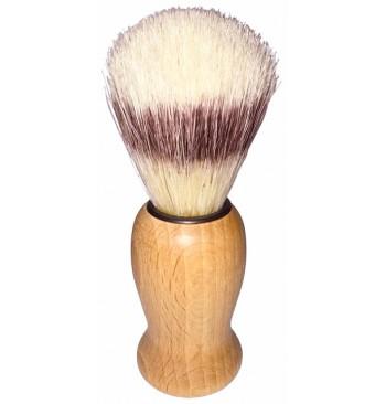 Brocha de afeitar de cerda natural