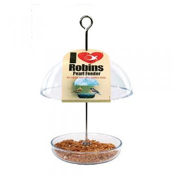ILR-PF Comedero para petirrojos con cúpula de protección