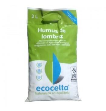 Humus de lombriz ecológico Ecocelta