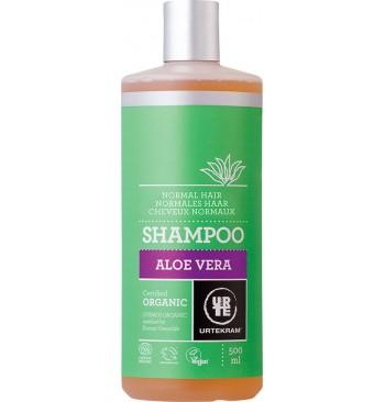 Champú de Aloe Vera cabello normal 500ml Urtekram
