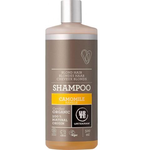 Champú de manzanilla cabellos claros 500ml Urtekram