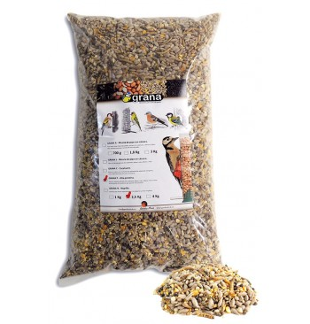 GRANA-P Mezcla de semillas alta proteína para pájaros
