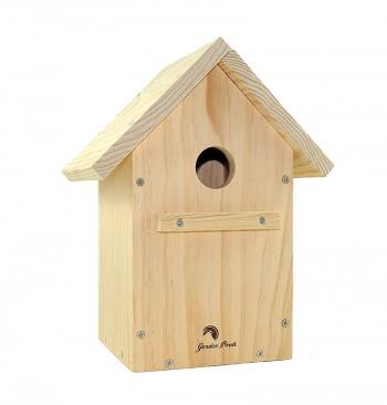Caja nido para pájaros a dos aguas
