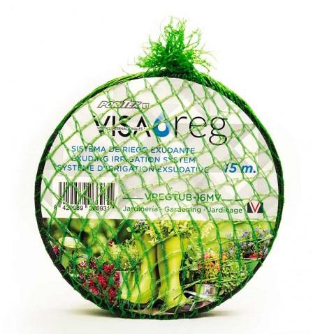 Manguera exudante Visareg GARDEN malla verde