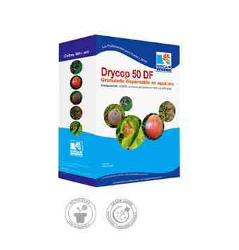 Fungicida Drycop 50 DF (oxicloruro de cobre) 500g