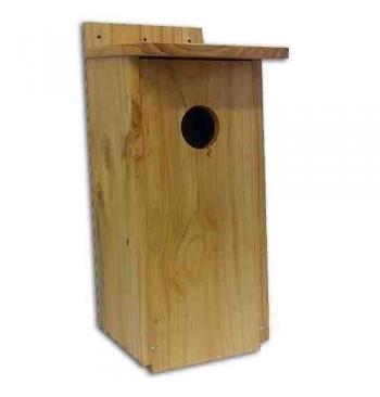 Caja nido para autillo