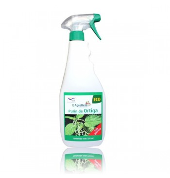 Purín de ortigas eco en spray 750ml Agrobeta