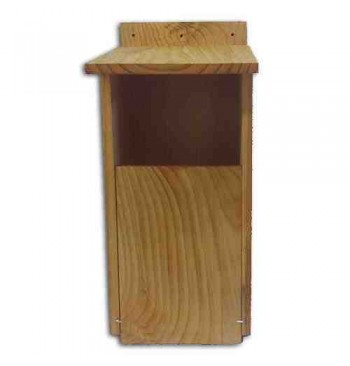 Caja nido para cárabo en madera tratada