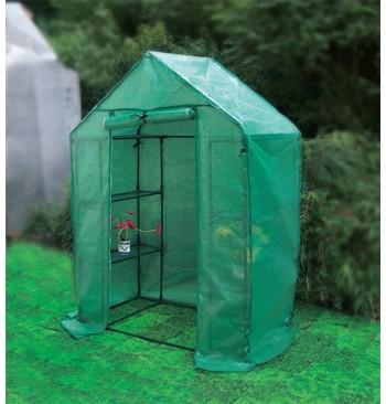 Invernadero de jardín mediano