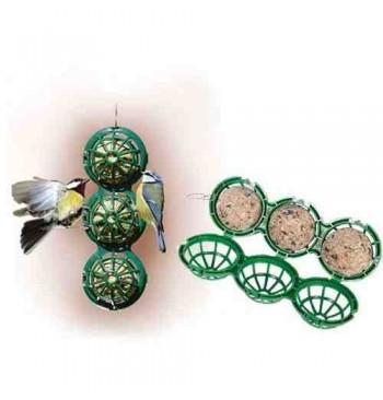 BB-1 Comedero para 3 bolas de sebo