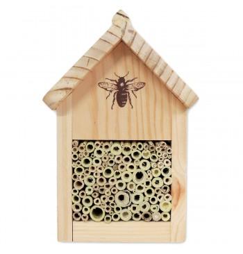 Nido-refugio para abejas
