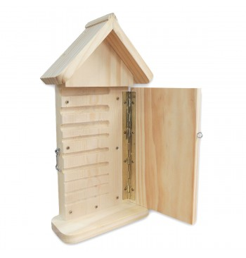 Hotel para insectos para observar sus larvas