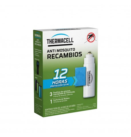 Thermacell recambio 12h