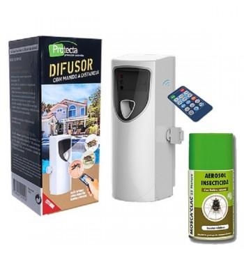 Dispensador automático insecticida + aerosol Nature 25