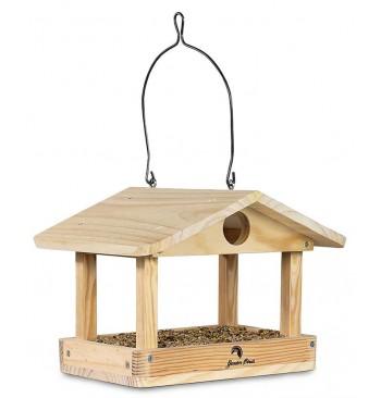 Comedero de madera modelo Viena