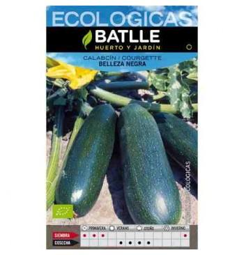 Calabacín Belleza negra ecológico 100g