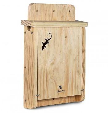 Refugio de madera para salamanquesas