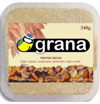 SRN -Pastel de sebo con frutos secos