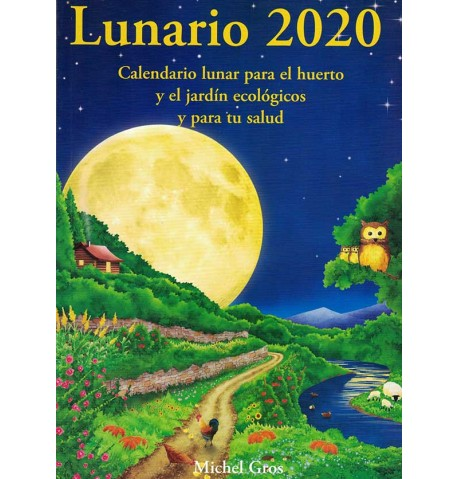 Calendario lunar Lunario 2020