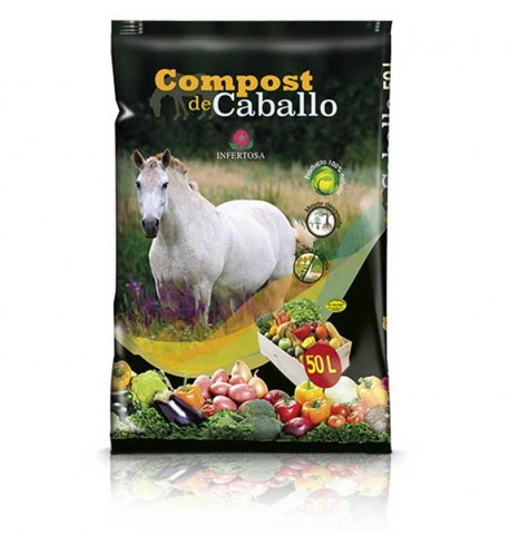 Compost de caballo 50L