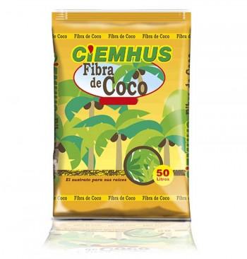 Sustrato Ciemhus Coco 50L (fibra de coco) en palé (51 sacos de 50L)