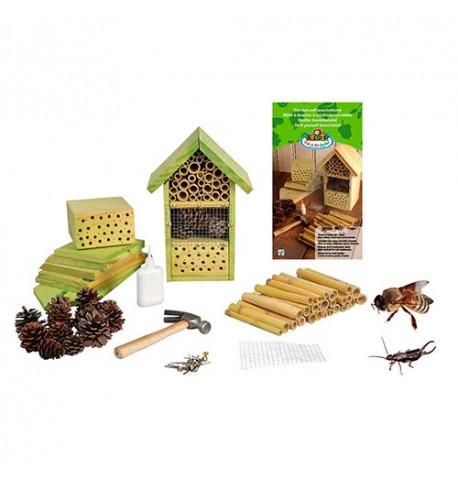 Hotel para insectos. Kit de construcción educativo