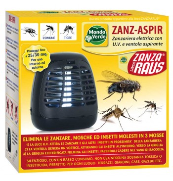 Atrapainsectos con ventilador Zanz-Aspir