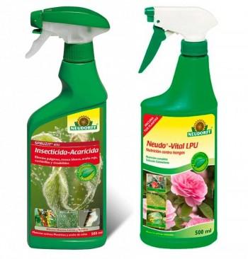 Kit antiplagas ecológico en spray