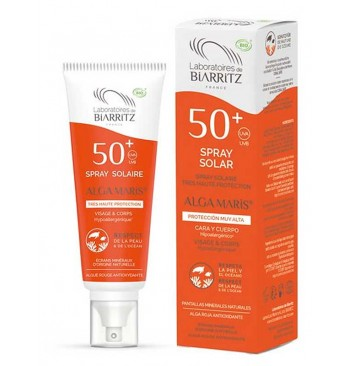 Spray Solar SPF50+ Hipoalergénico 100ml Alga Maris