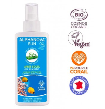 Gel calmante aftersun Bio 125ml Alphanova