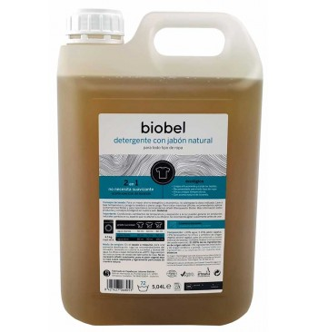 Detergente lavadoras Biobel 5L